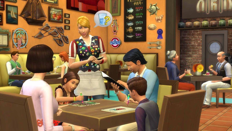 The Sims 4 Bundle Pack 5 - Dine Out, Movie Hangout Stuff, Romantic Garden Stuff (PC) - 9