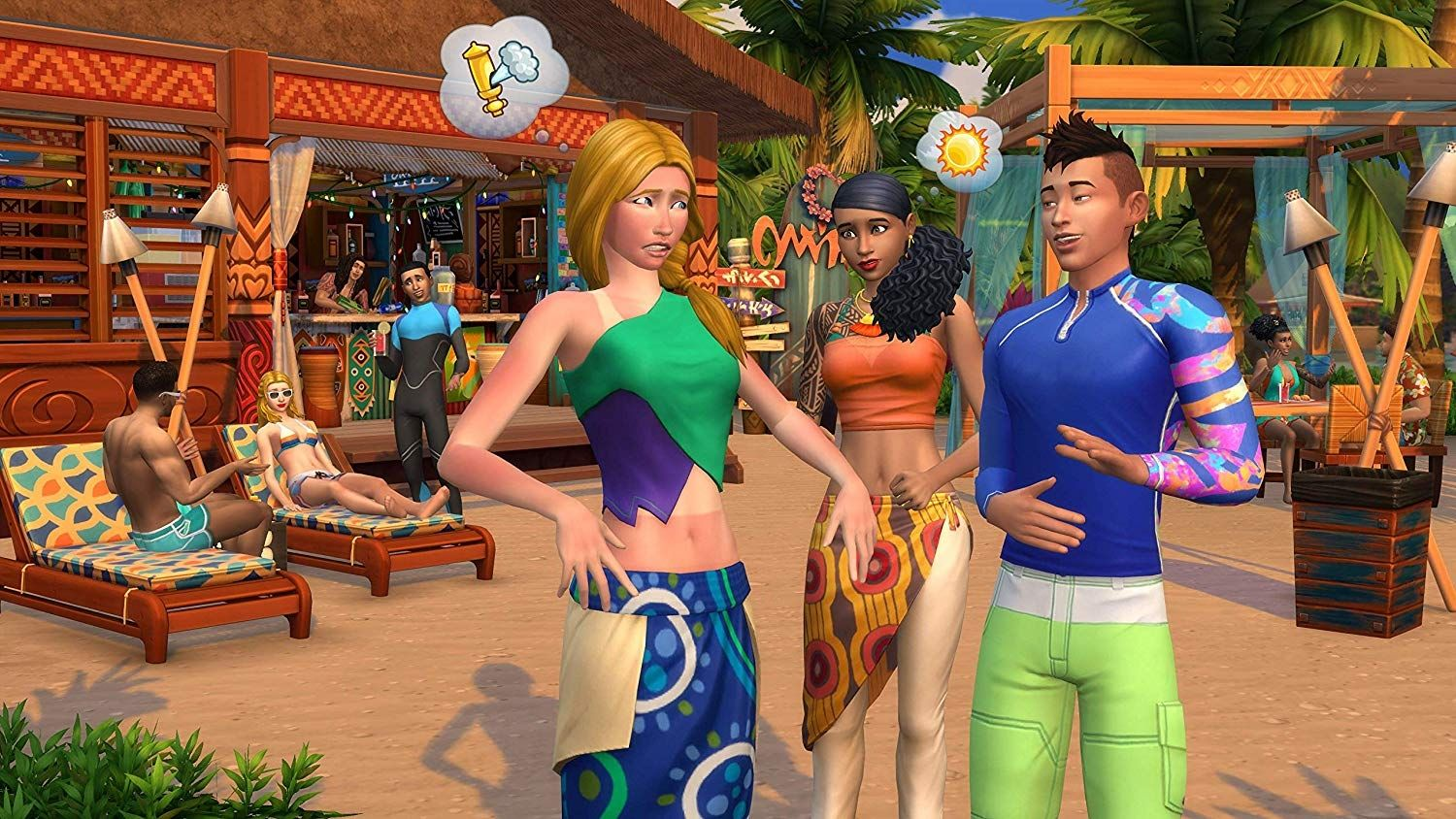 The Sims 4 Island Living Expansion Pack (PC) - 5