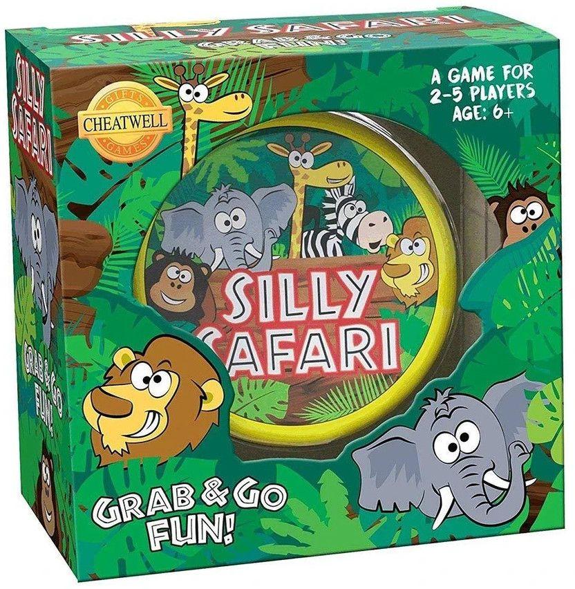 Настолна игра Silly Safari - детска - 1