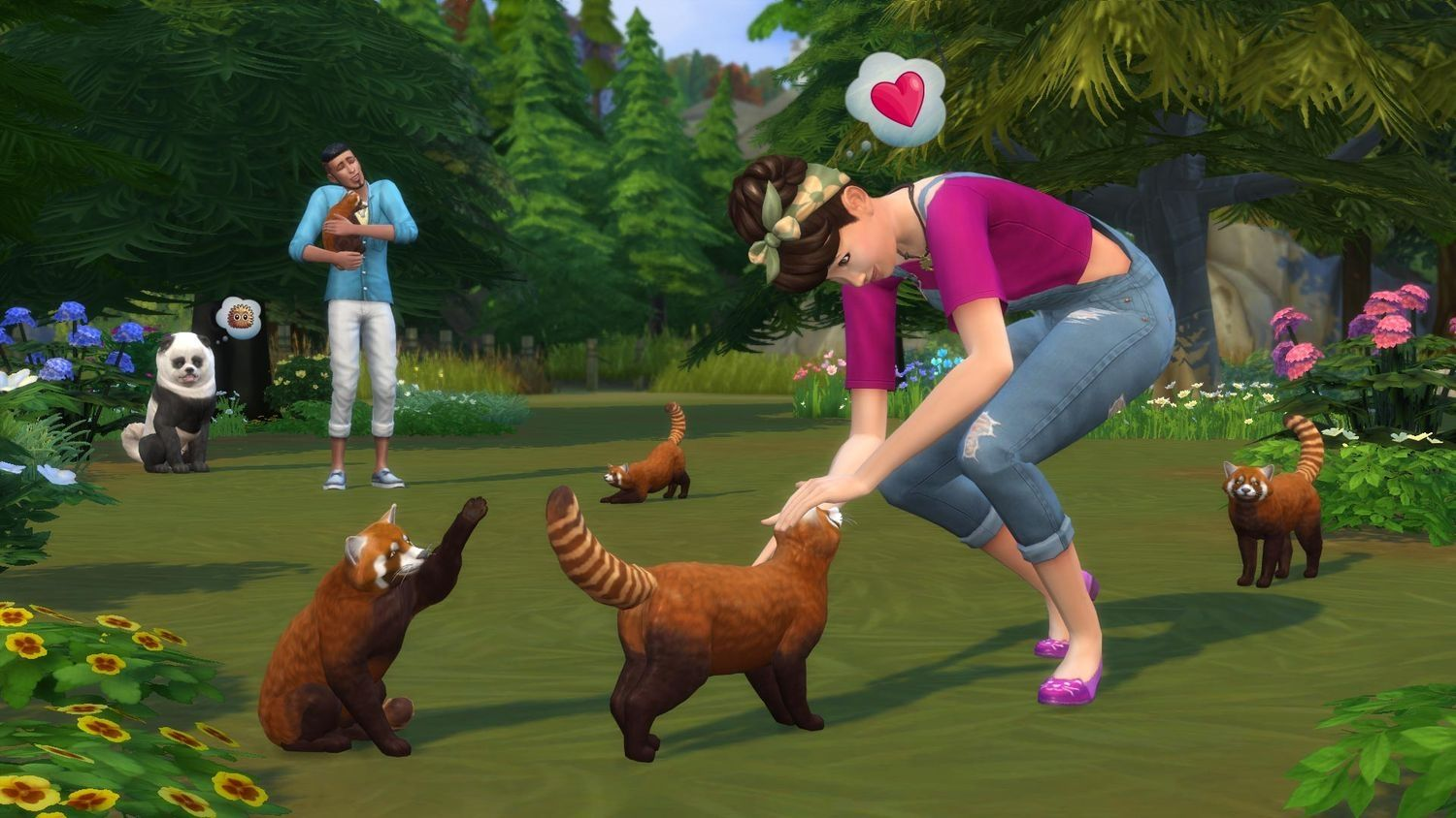 The Sims 4 + Cats & Dogs Expansion Pack Bundle (Xbox One) - 3