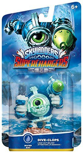 Фигура Skylanders Superchargers Dive Clops - 2