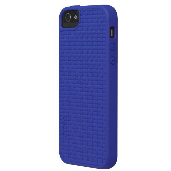 Skech Grip Shock Snap On Case за iPhone 5 -  син - 2