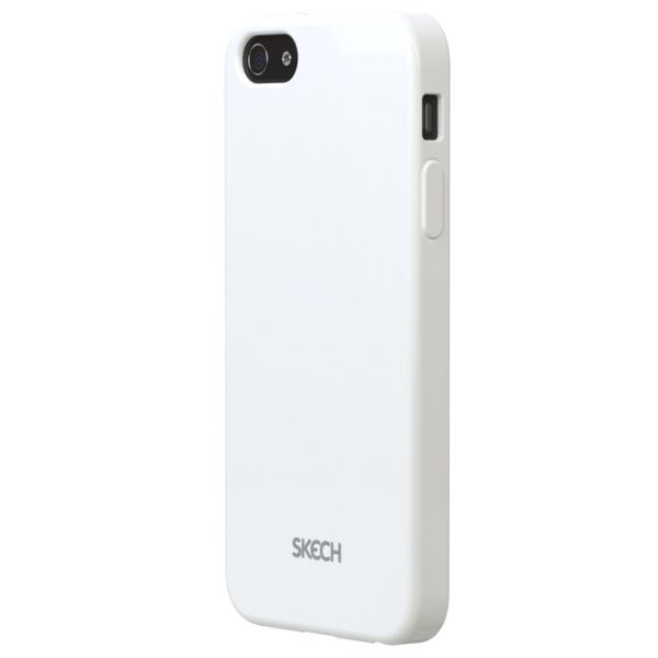 Skech Groove Snap On Case за iPhone 5 -  бял - 2