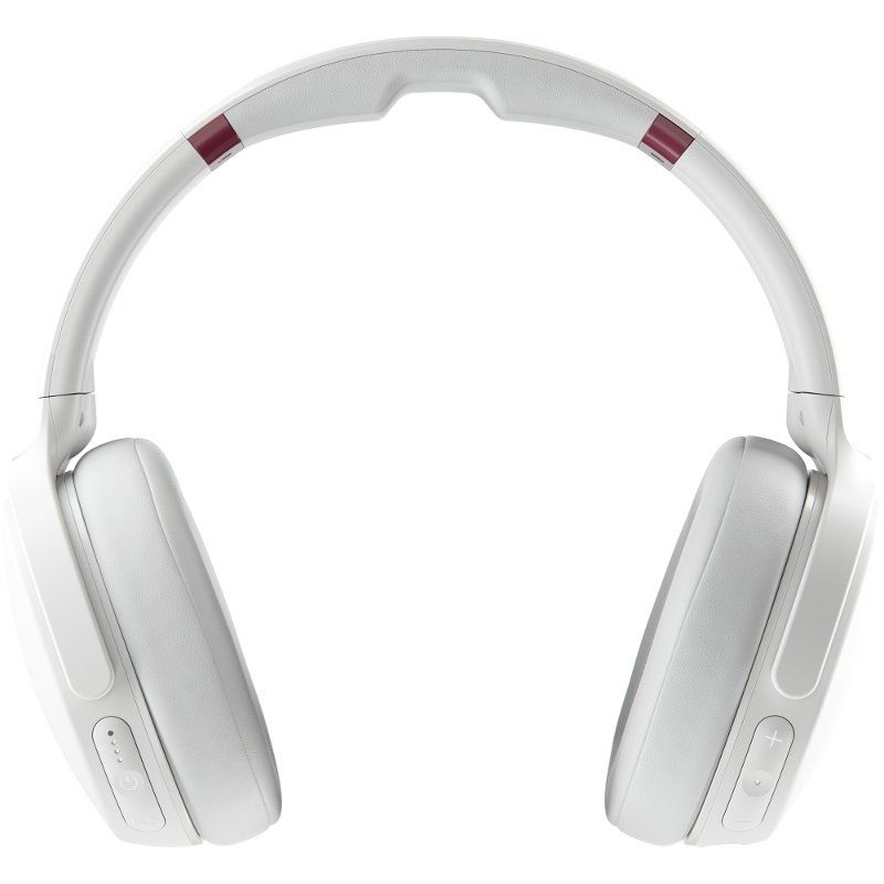 Слушалки с микрофон Skullcandy - Venue Wireless, white/crimson - 3