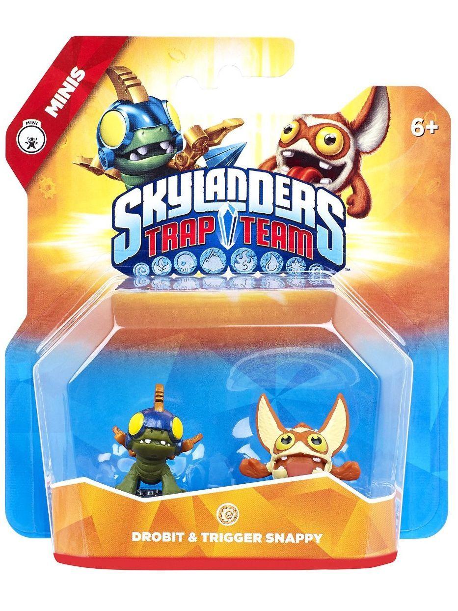 Фигура Skylanders Trap Team - Drobit & Trigger Snappy (Minis) - 1