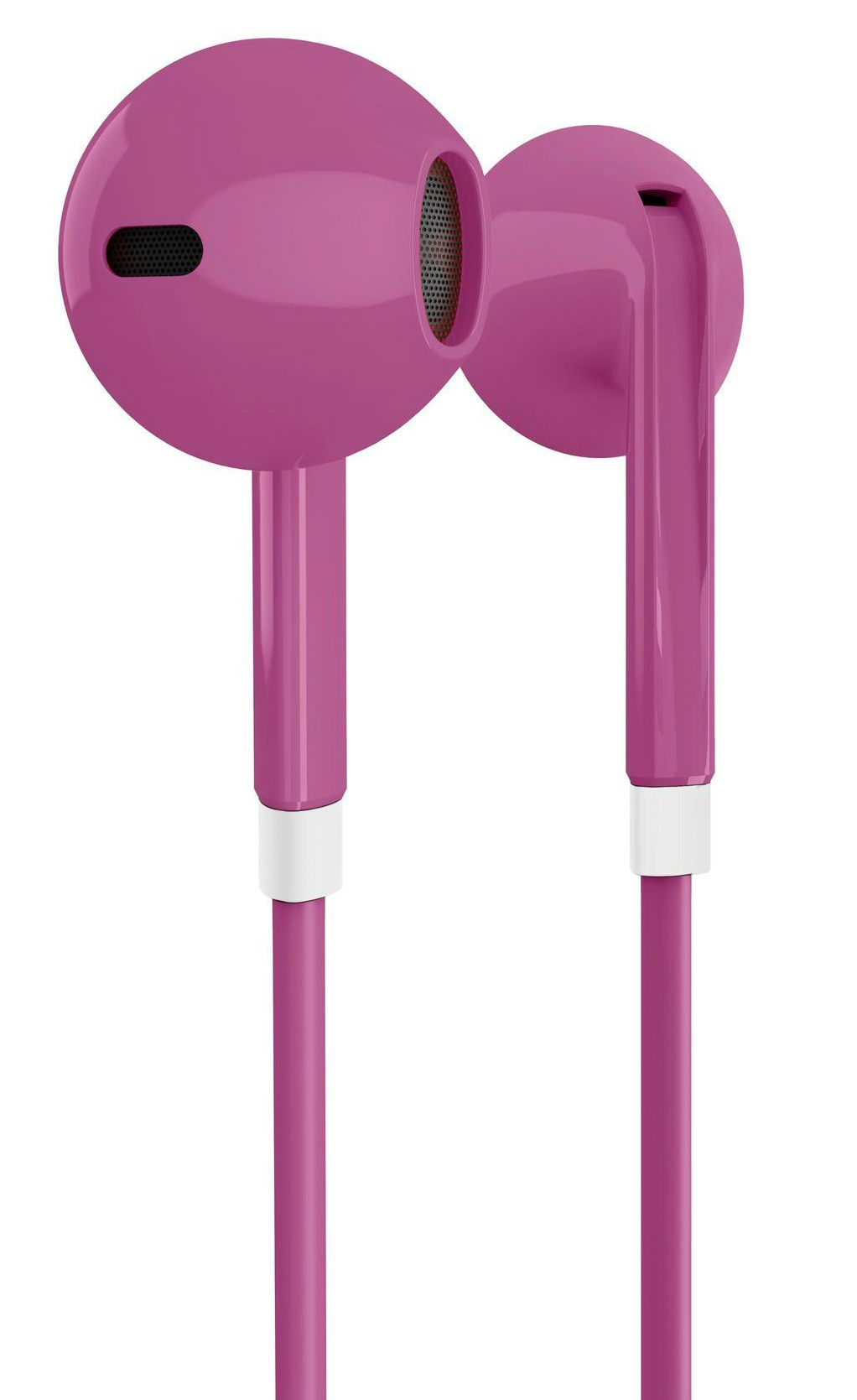 Слушалки с микрофон Energy Sistem - Earphones 1, розови - 4