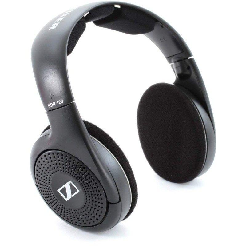 Слушалки Sennheiser HDR 120 - черни (разопаковани) - 1