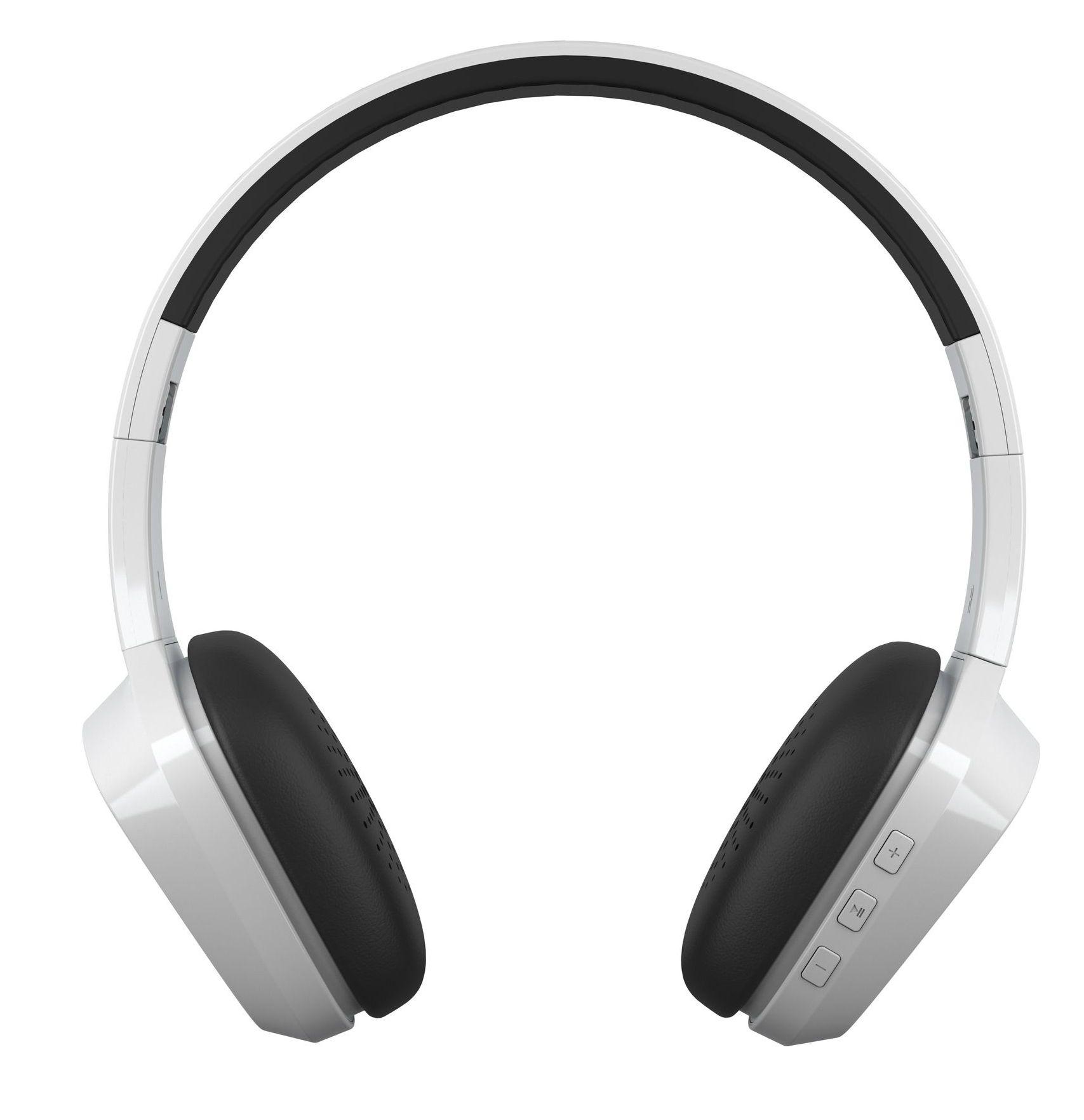 Слушалки с микрофон Energy Sistem - Headphones 1 BT, бели - 2