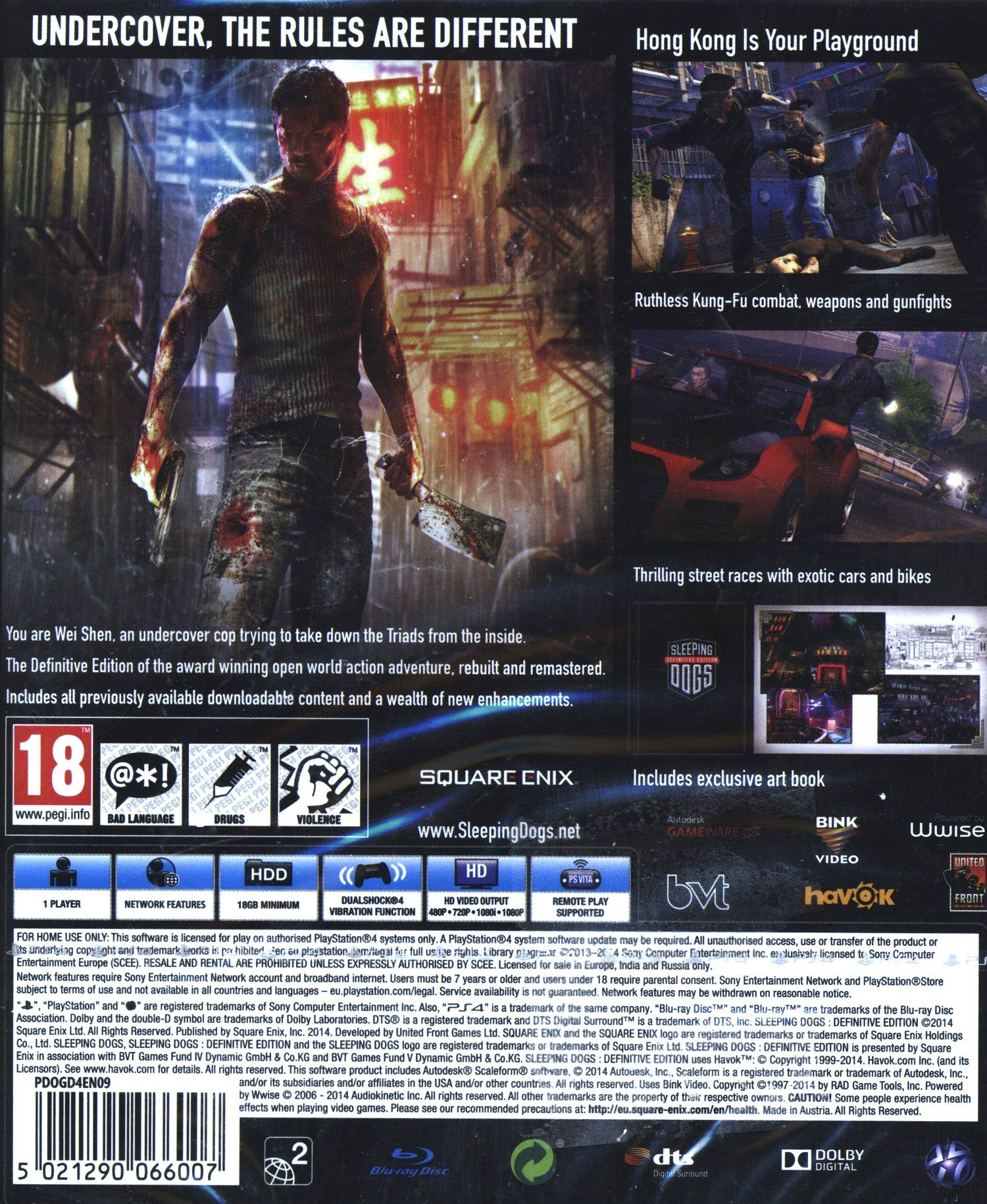Sleeping Dogs: Definitive Edition (PS4) - 3