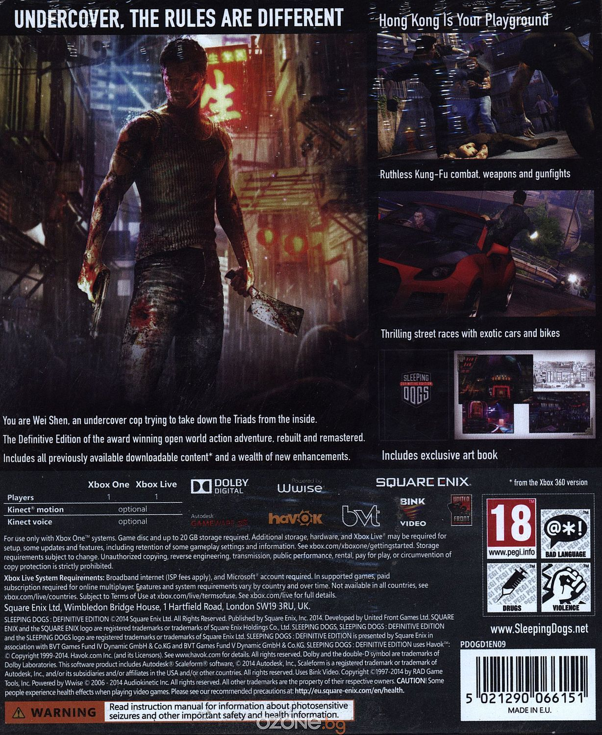 Sleeping Dogs: Definitive Edition (Xbox One) - 3