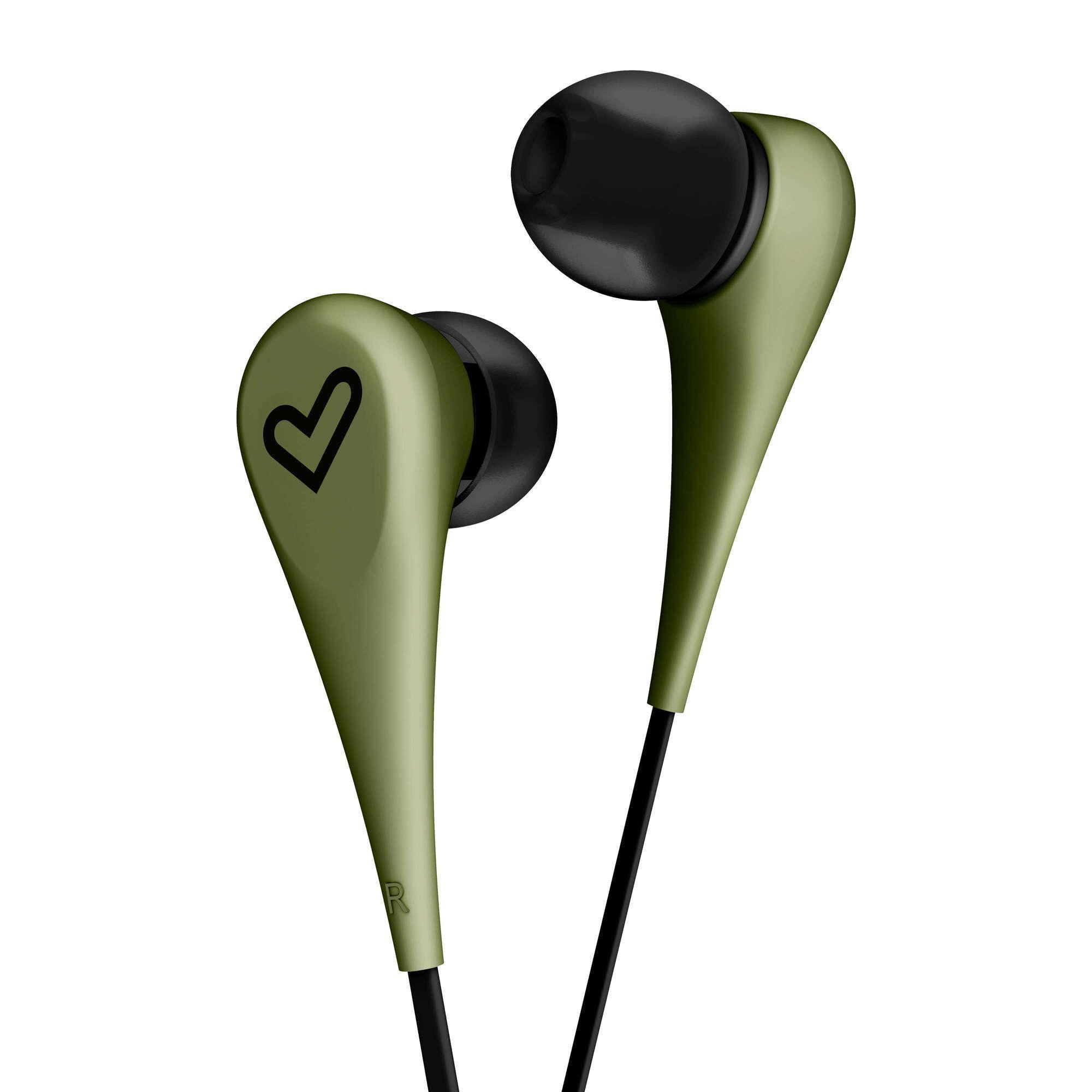 Слушалки Energy Sistem - Earphones Style 1, зелени - 4