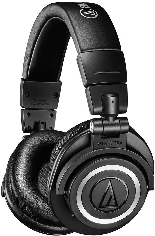 Слушалки с микрофон Audio-Technica ATH-M50xBT - черни - 1