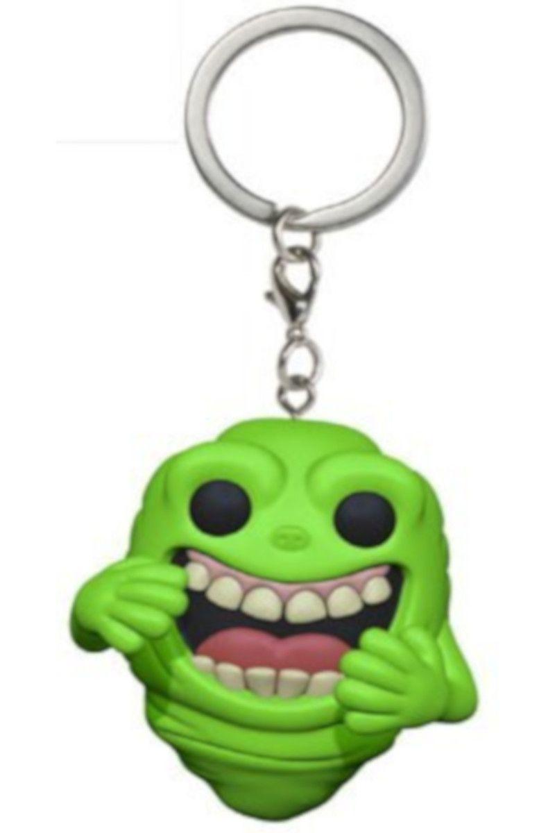 Ключодържател Funko Pocket Pop! Ghostbusters - Slimer - 1