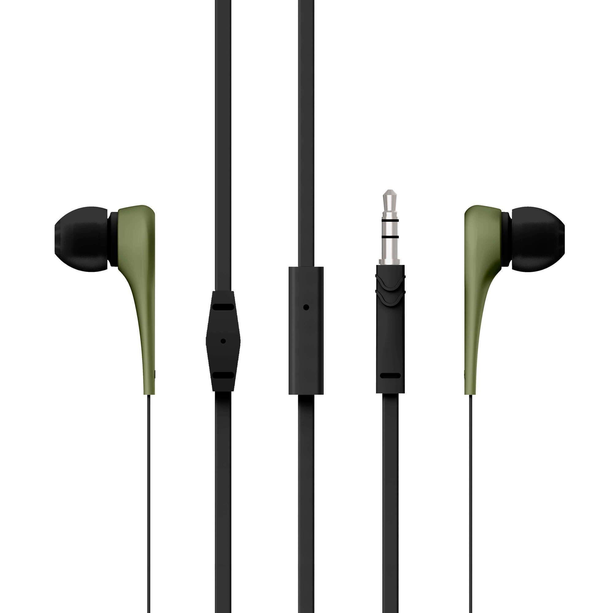 Слушалки Energy Sistem - Earphones Style 1, зелени - 2