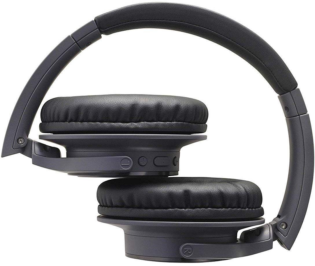 Слушалки с микрофон Audio-Technica - ATH-SR30BTBK, charcoal gray - 3
