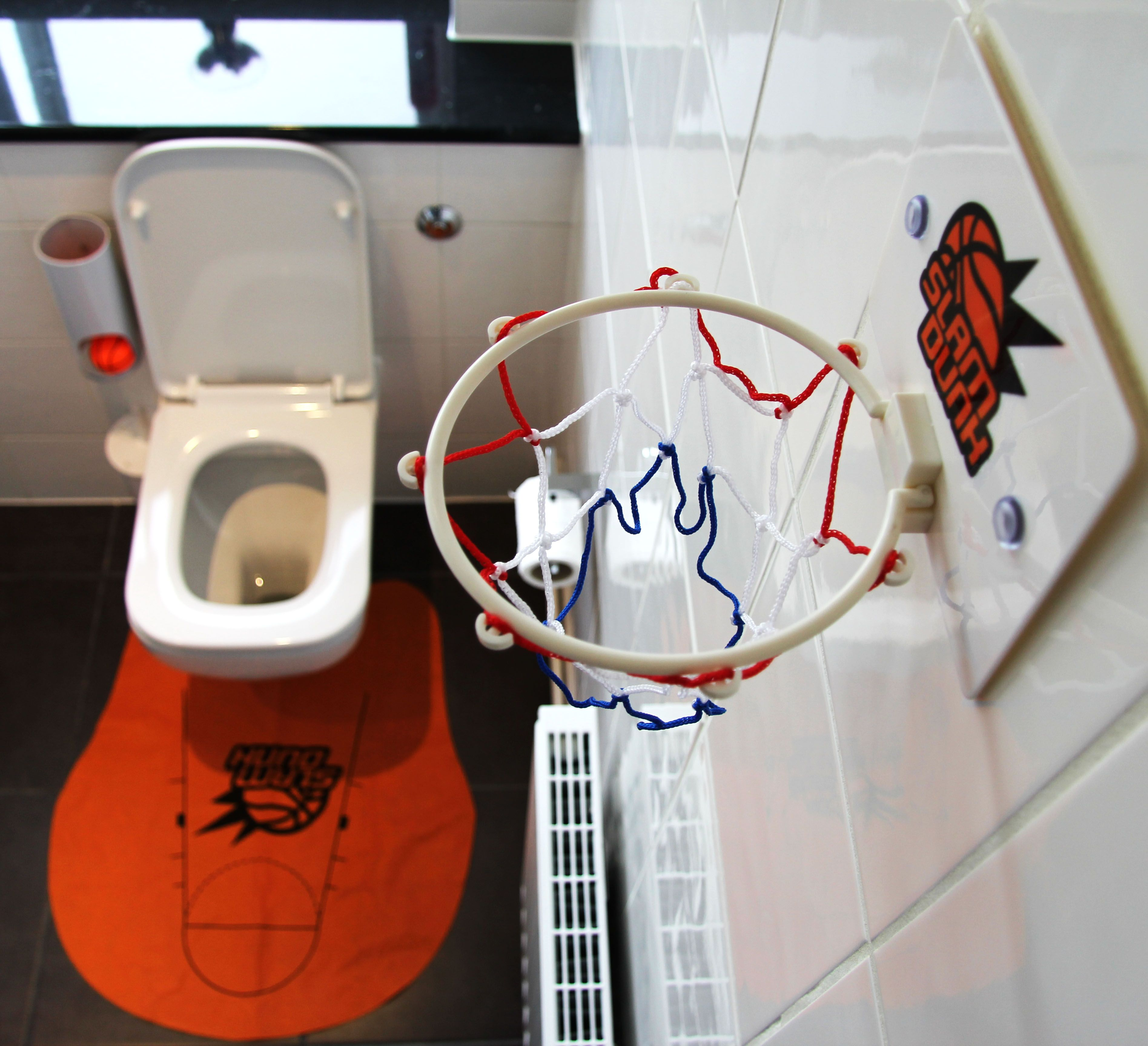 Тоалетен баскетбол комплект - 2