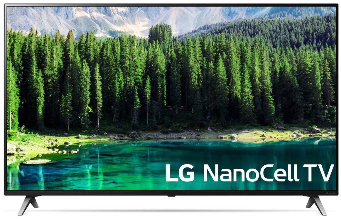 """Смарт Телевизор LG 49SM8500 - 49"""", 4K, Nano Cell, Edge LED, черен - 1"""