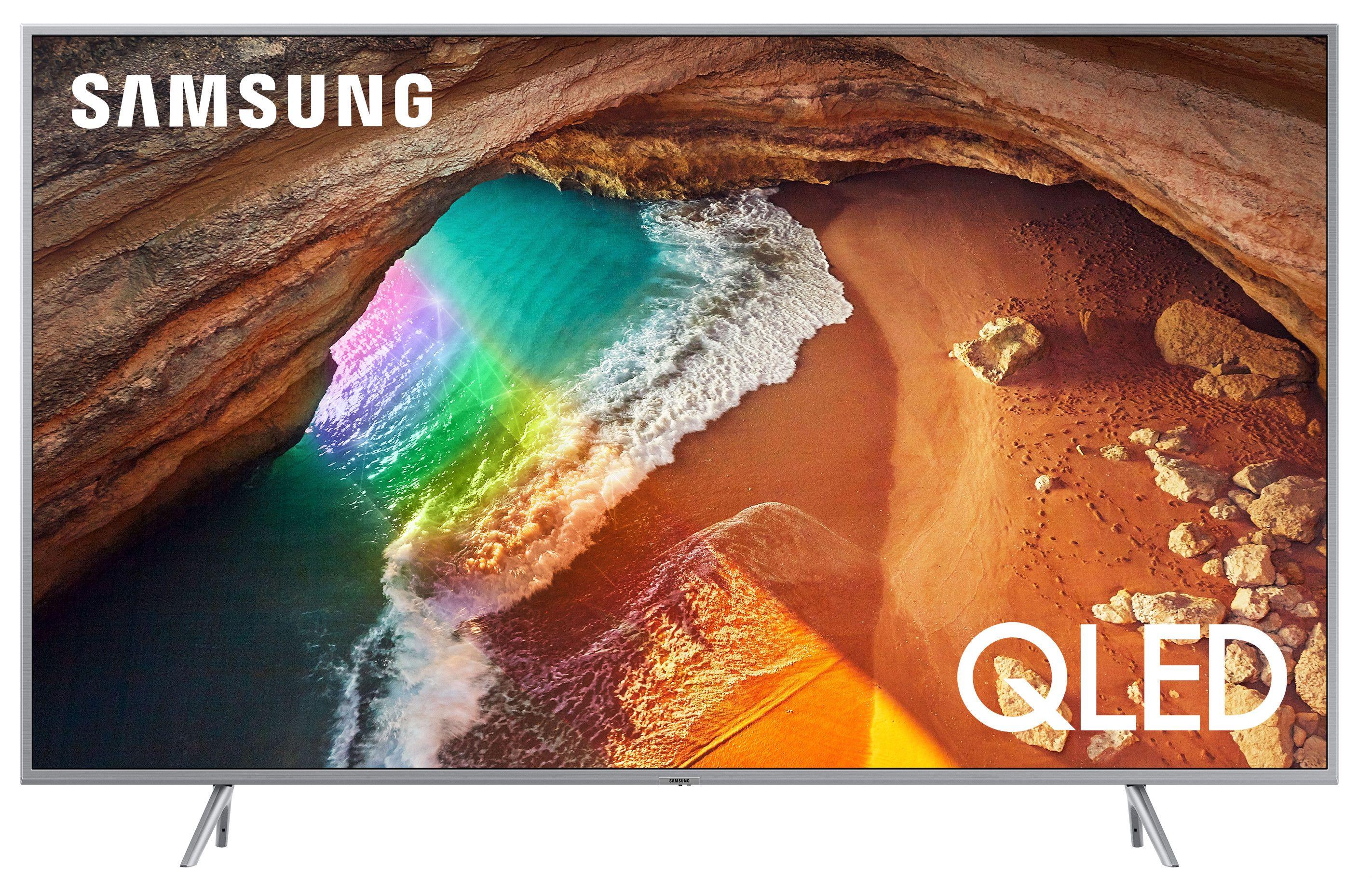 """Смарт телевизор Samsung  43Q60 - 43"""",QLED, QHDR, черен - 1"""