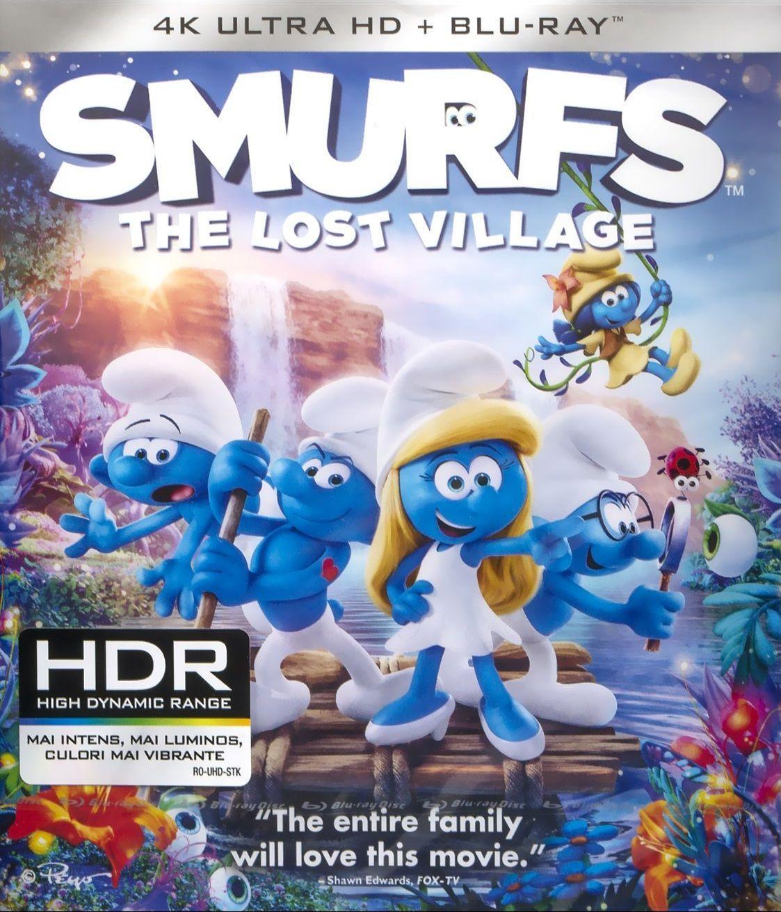 Смърфовете: Забравеното селце (4K UHD + Blu-Ray) - 1