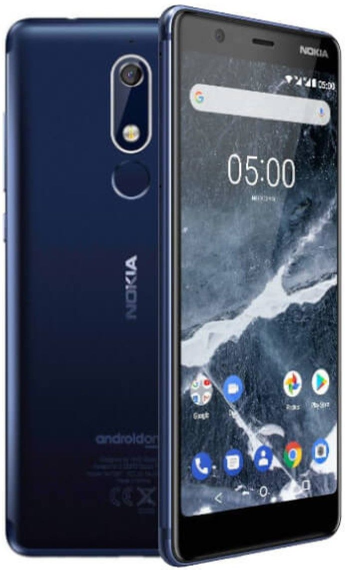 "Смартфон Nokia 5.1 DS - 5.5"", 16GB, син - 2"