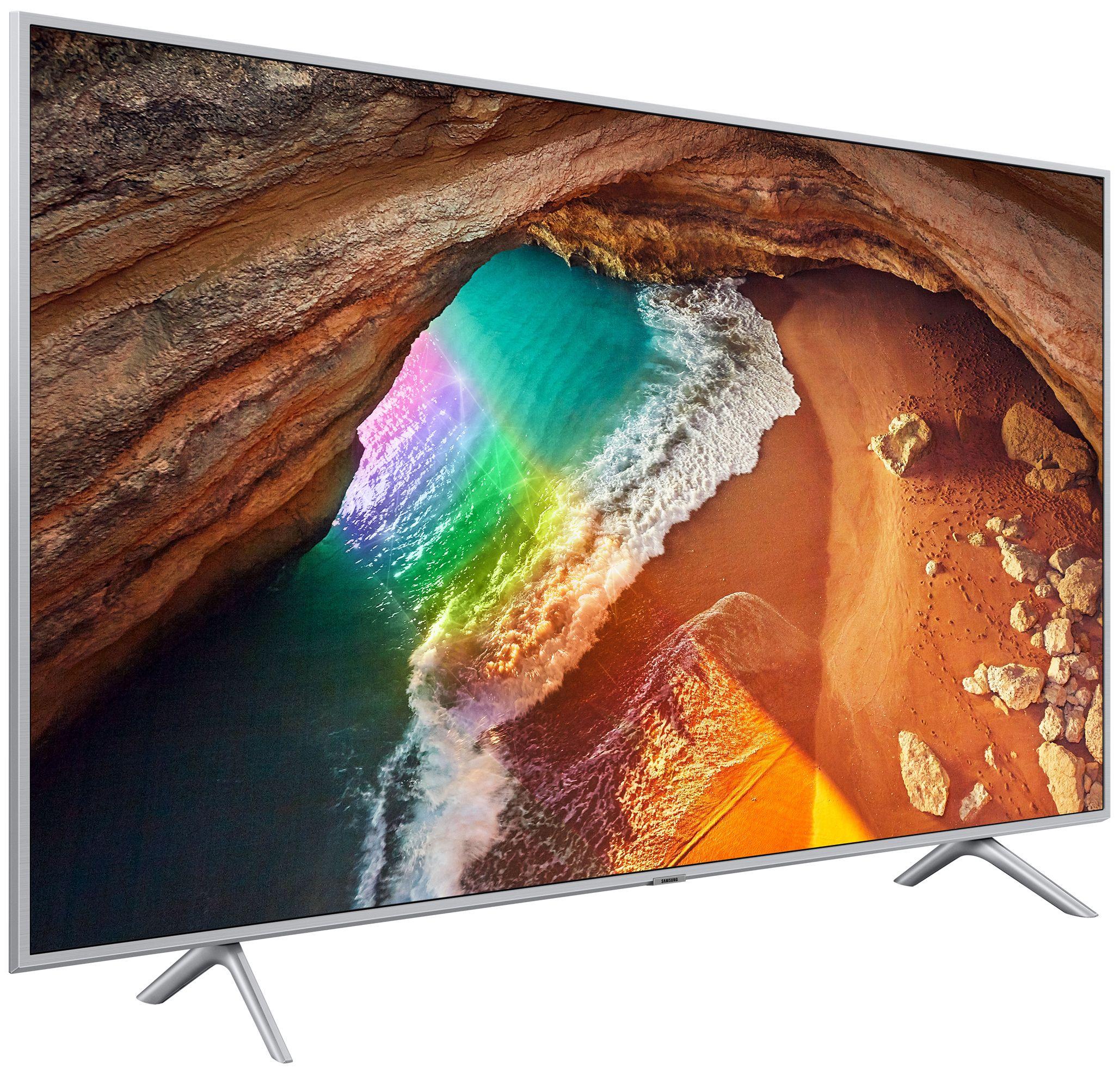 """Смарт телевизор Samsung  43Q60 - 43"""",QLED, QHDR, черен - 3"""