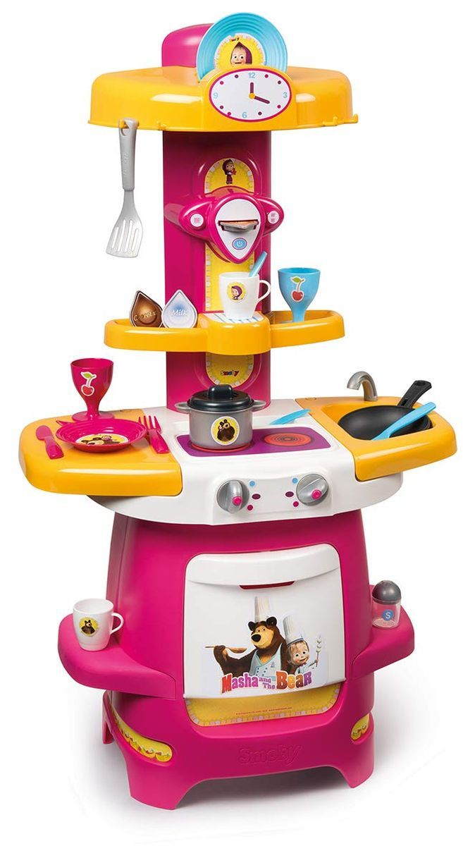 Детска кухня Smoby - Маша и Мечока - 1