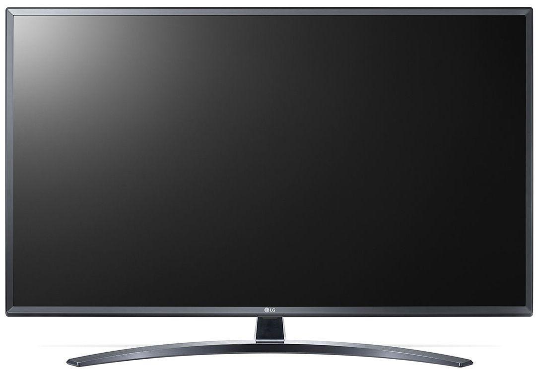 """Смарт Телевизор LG 49UM7400 - 49"""",  4K, Direct LED, сив - 2"""