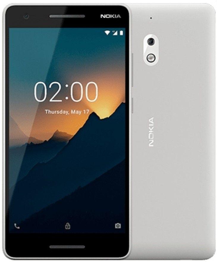 """Смартфон Nokia 2.1 DS - 5.5"""", 8GB, сив/сребрист - 1"""