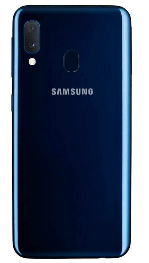 "Смартфон Samsung Galaxy A20e - 5.8"", 32GB, син - 3"