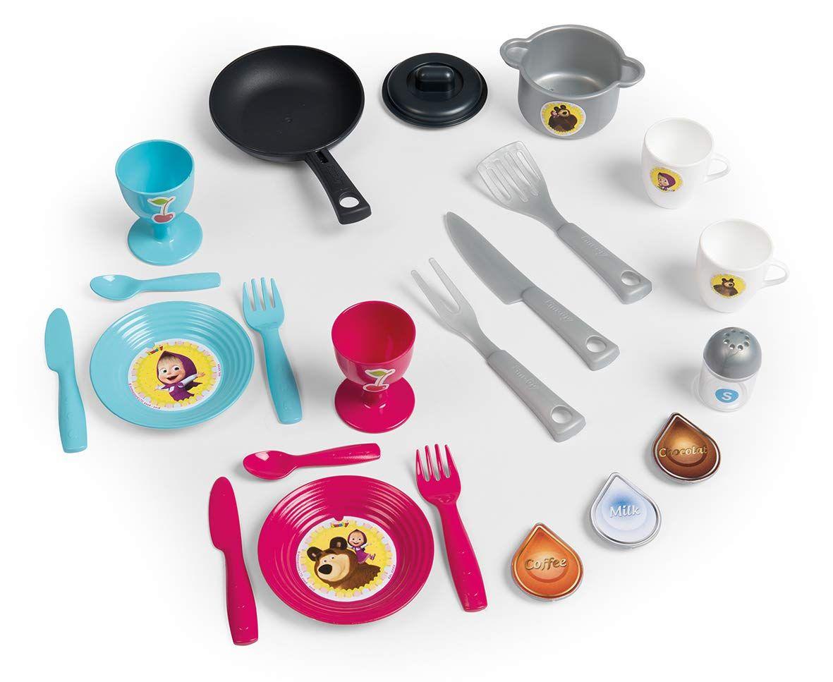Детска кухня Smoby - Маша и Мечока - 2