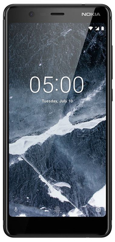 "Смартфон Nokia 5.1 Plus DS - 5.86"", 32GB, черен - 1"