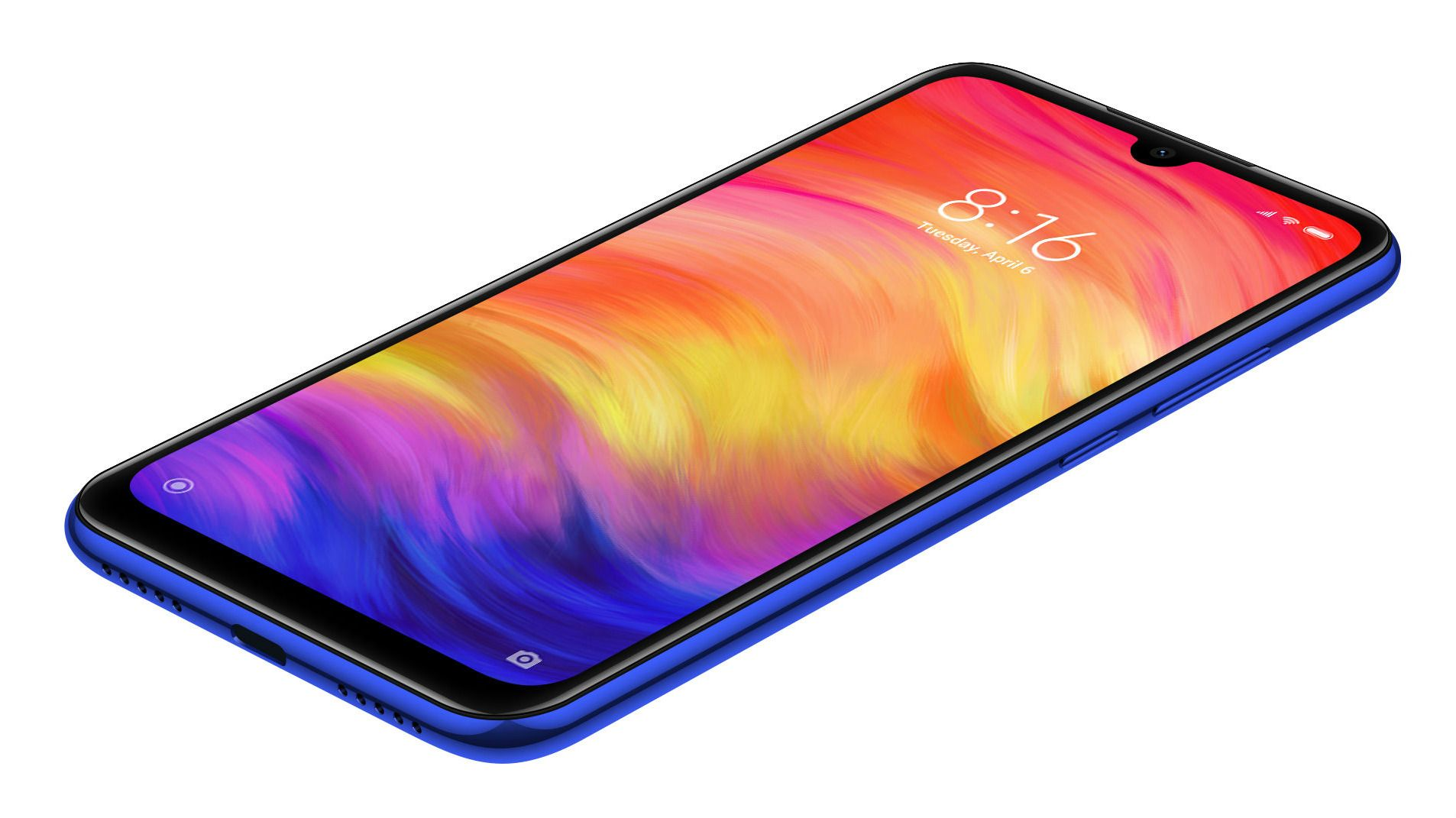 "Смартфон Xiaomi Redmi Note 7 - 6.3"", 32GB, син - 3"