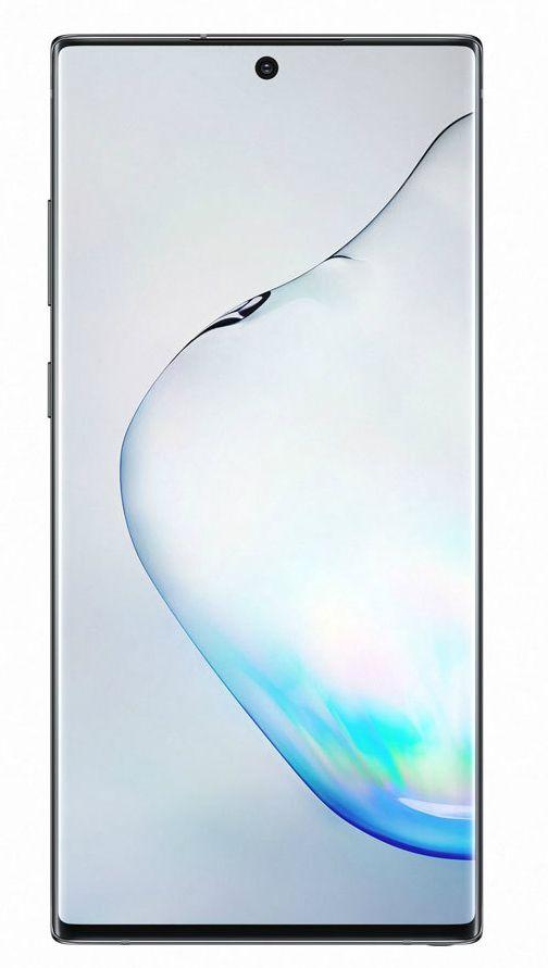 """Смартфон Samsung Galaxy Note 10+, 6.8 """", 256GB, aura black - 2"""