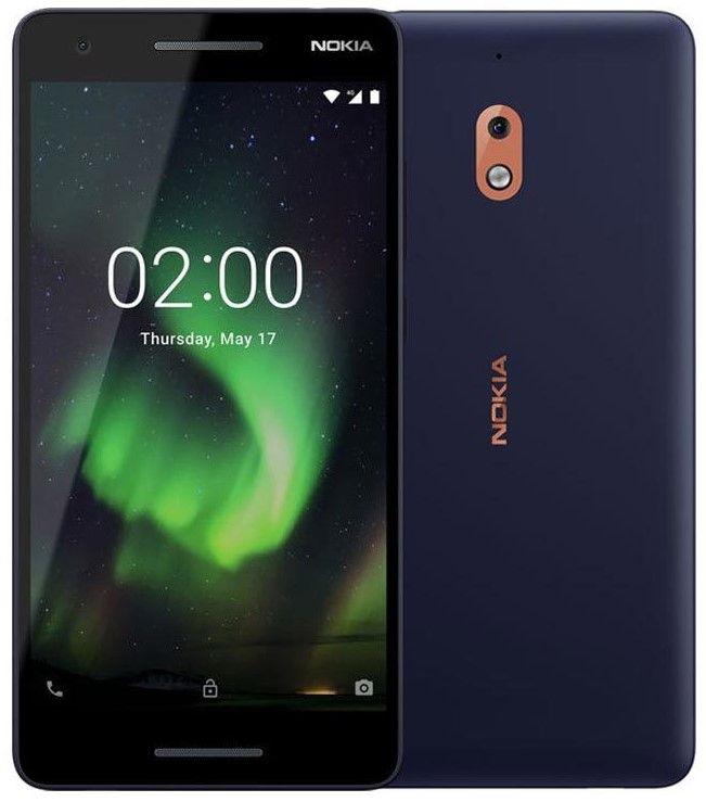 """Смартфон Nokia 2.1 DS - 5.5"""", 8GB, blue/copper - 1"""