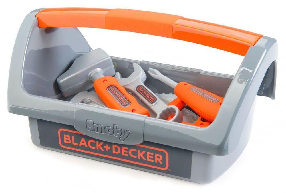 Детски комплект Smoby Black & Decker - Кутия с инструменти - 1
