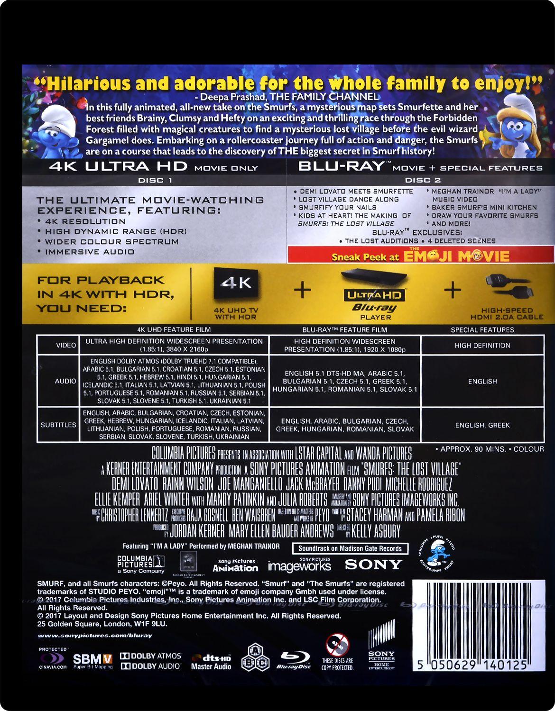 Смърфовете: Забравеното селце (4K UHD + Blu-Ray) - 4