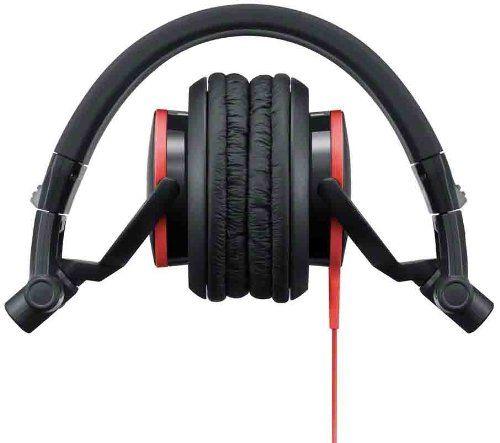 Слушалки Sony MDR-V55 - червени - 3