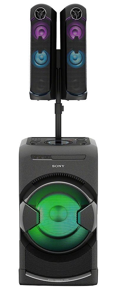Sony MHC-GT4D Party System with Bluetooth - 1