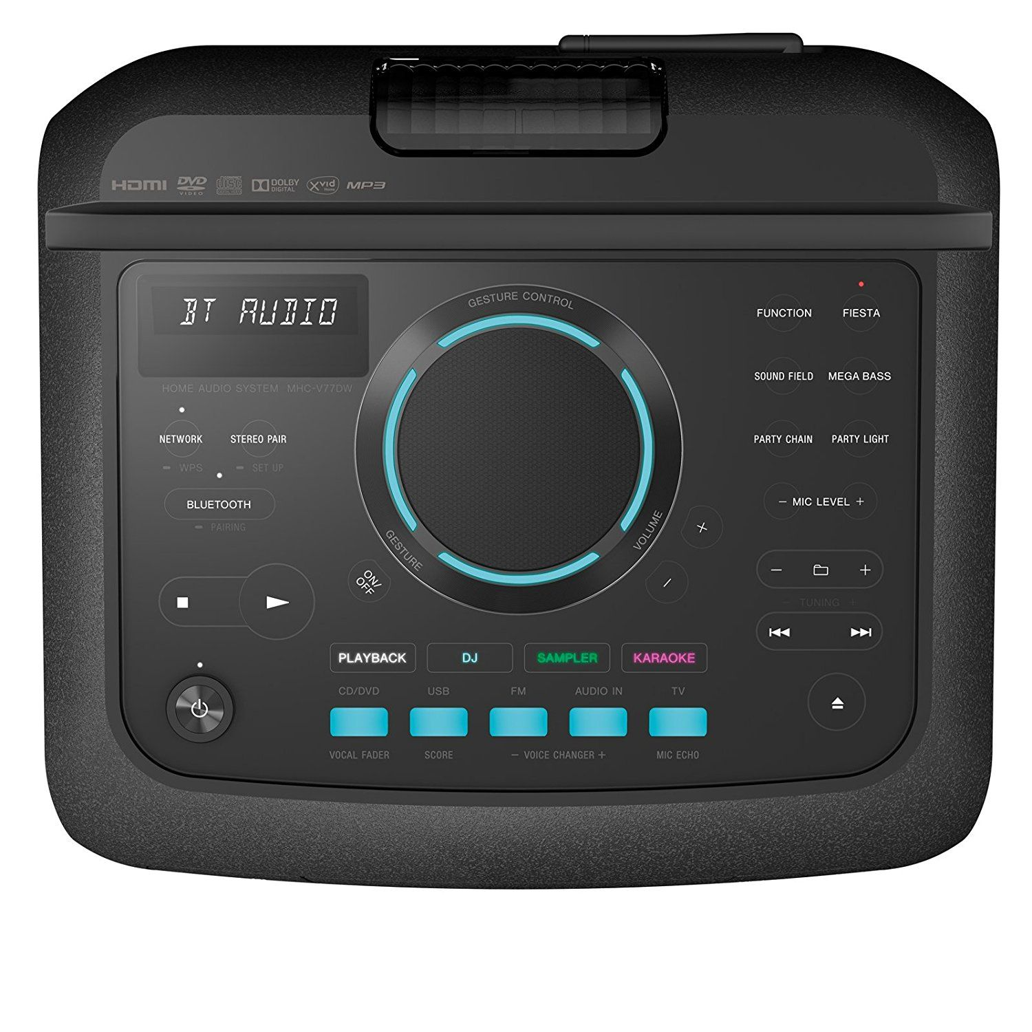 Sony MHC-V77DW Party System with Bluetooth and Wi-Fi - 3