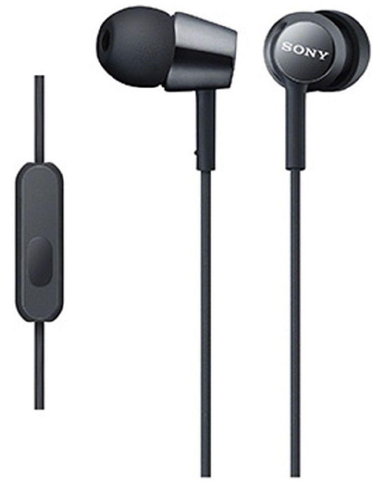 Слушалки Sony MDR-EX155AP - черни - 1