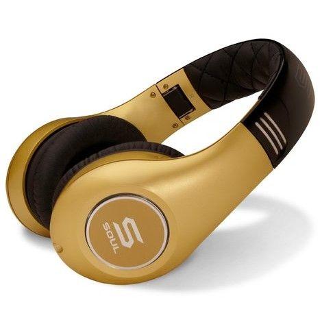 Слушалки Soul SL300 - златисти - 5