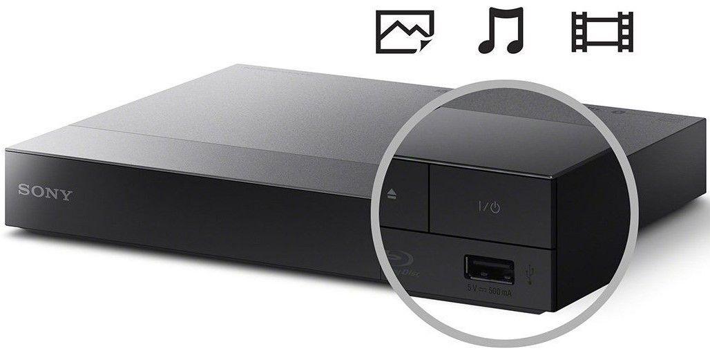 Blu-Ray плейър Sony BDP-S3700 - черен - 3