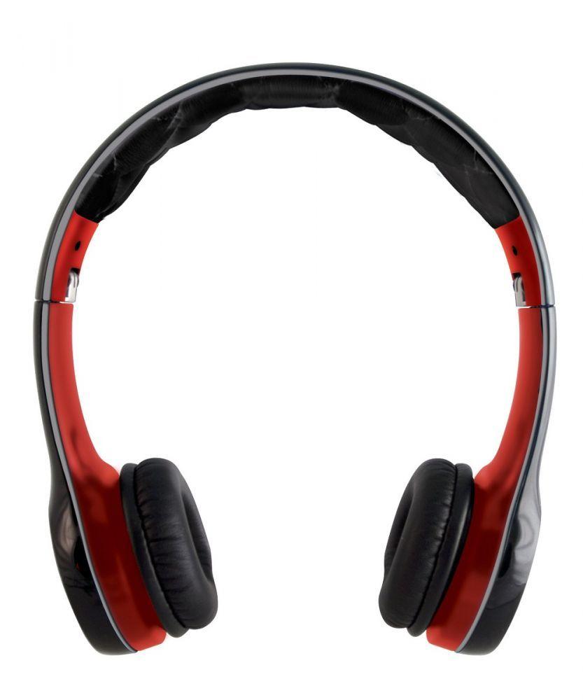Слушалки Soul SL100 - черни/червени - 3