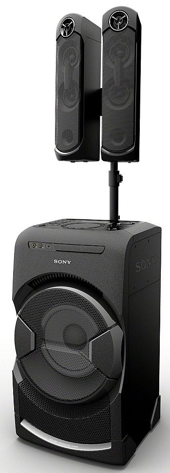 Sony MHC-GT4D Party System with Bluetooth - 2