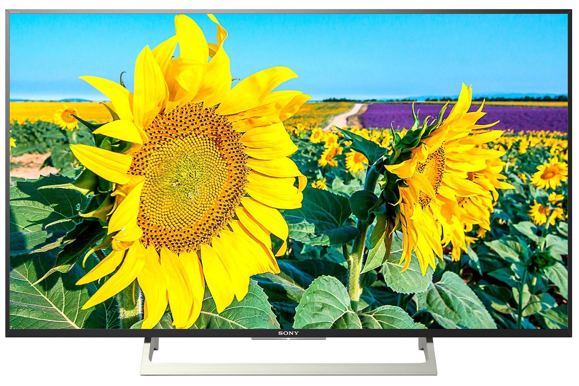 """Смарт телевизор Sony Bravia Triluminos KD-43XF8096 - 43"""" 4K - 1"""