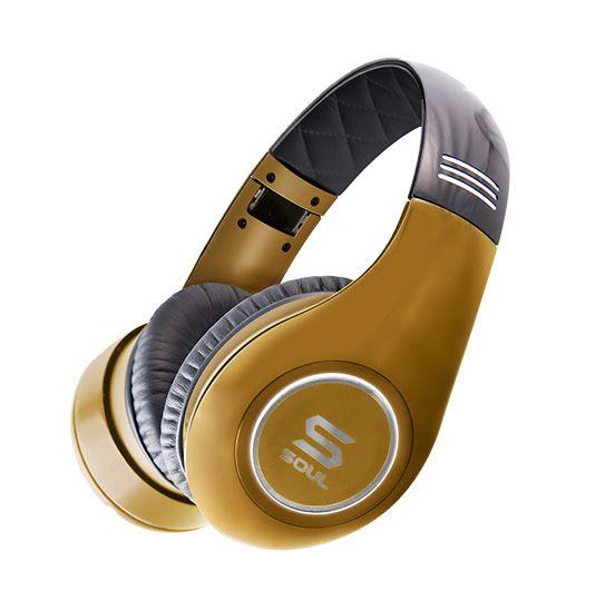 Слушалки Soul SL300 - златисти - 1