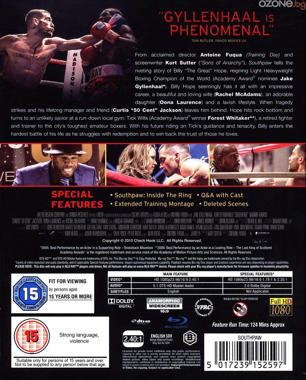 Southpaw (Blu-Ray) - 2