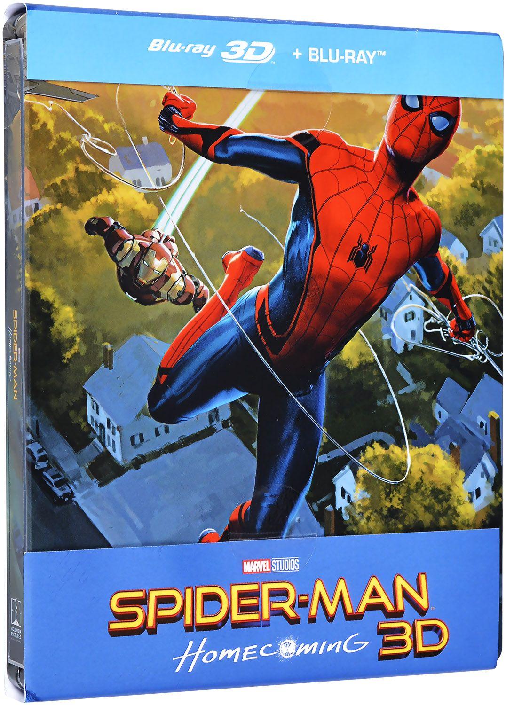 Спайдър-мен: Завръщане у дома Steelbook Edition 3D+2D (Blu-Ray) - 1