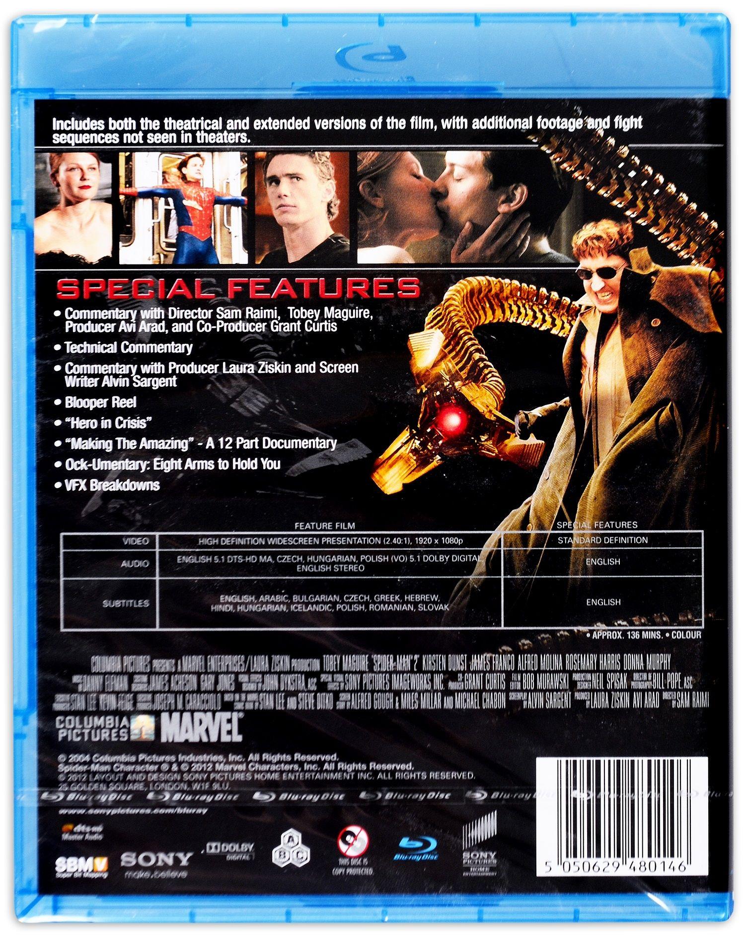 Спайдър-мен 2 (Blu-Ray) - 4