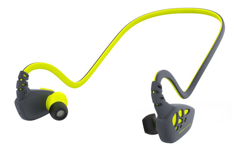 Спортни слушалки Energy Sistem - Sport 3, жълти - 1